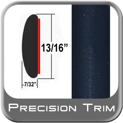 """13/16"""" Wide Blue (Dark) Molding Trim (PT28) Sold by the Foot Precision Trim® #40100-28-01"""