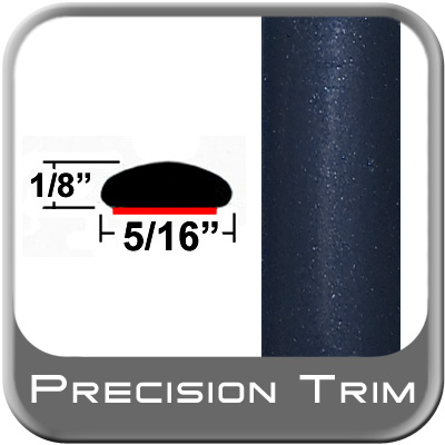 "5/16"" Wide Blue (Dark) Wheel Molding Trim (PT35) Sold by the Foot Precision Trim® #24200-35-01"