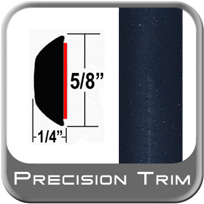 "5/8"" Wide Blue (Dark) Wheel Molding Trim (PT28) Sold by the Foot Precision Trim® #37130-28-01"