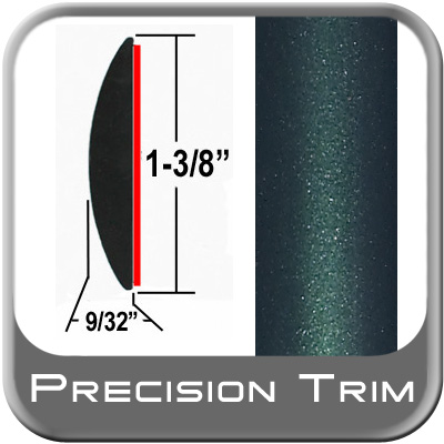 "1-3/8"" Wide Green (Dark) Molding Trim (PT92) Sold by the Foot Precision Trim® #17100-92-01"