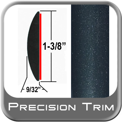 """1-3/8"""" Wide Green (Dark) Molding Trim (PT95) Sold by the Foot Precision Trim® #17100-95-01"""