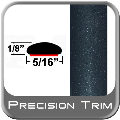 """5/16"""" Wide Green (Dark) Wheel Molding Trim (PT95) Sold by the Foot Precision Trim® #24200-95-01"""