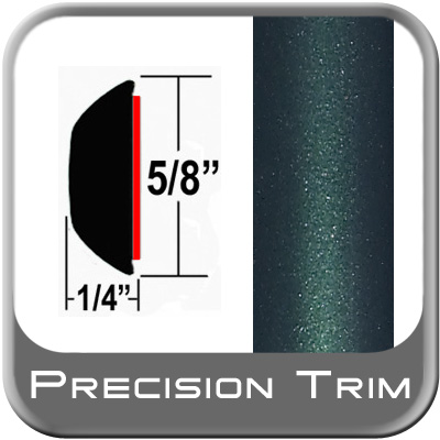"""5/8"""" Wide Green (Dark) Wheel Molding Trim (PT92) Sold by the Foot Precision Trim® #37130-92-01"""