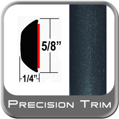 "5/8"" Wide Green (Dark) Wheel Molding Trim (PT95) Sold by the Foot Precision Trim® #37130-95-01"