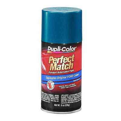 Ford Cayman Green Metallic Perfect Match® Touch-Up Spray Paint 8 ounce DupliColor #BFM0328