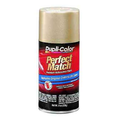 Chrysler, Dodge Champagne Pearl Perfect Match® Touch-Up Spray Paint 8 ounce DupliColor #BCC0401