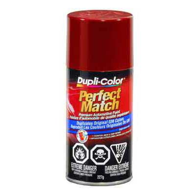GM, Isuzu Dark Cherry Metallic Perfect Match® Touch-Up Spray Paint 8 ounce DupliColor #BGM0509