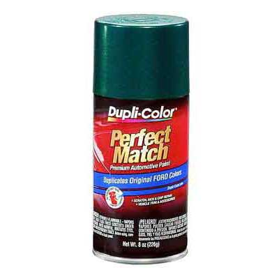 Ford, Mazda Deep Jewel Green Metallic Perfect Match® Touch-Up Spray Paint 8 ounce DupliColor #BFM0327