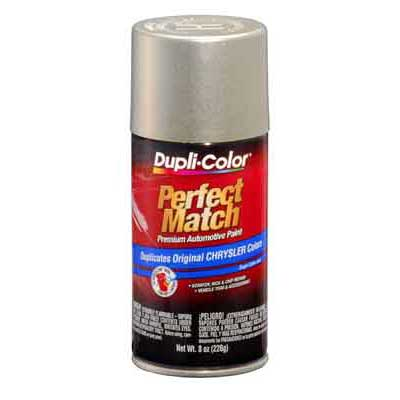 Chrysler, Dodge Driftwood Satin Metallic Perfect Match® Touch-Up Spray Paint 8 ounce DupliColor #BCC0402