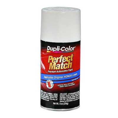 Acura, Honda, Isuzu Frost White Perfect Match® Touch-Up Spray Paint 8 ounce DupliColor #BHA0950