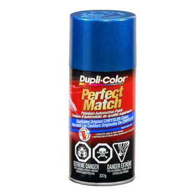 Chrysler, Dodge Intense Blue Pearl Perfect Match® Touch-Up Spray Paint 8 ounce DupliColor #BCC0422