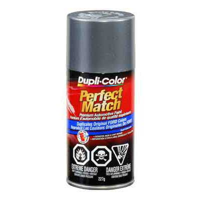 Ford Medium Charcoal Metallic Perfect Match® Touch-Up Spray Paint 8 ounce DupliColor #BFM0225