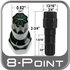 Excalibur® Lug Nut Key Large 8-Point (Male) Sold Individually #98-0210GA