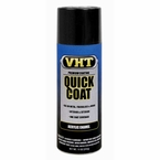 Flat Black Quick Coat® Acrylic Enamel Spray Paint 11 ounce VHT #SP510