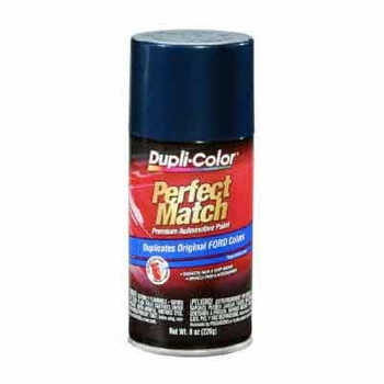 Ford Dark Blue Metallic Perfect Match® Touch-Up Spray Paint 8 ounce DupliColor #BFM0187