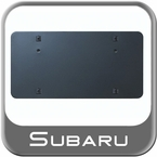 Subaru License Plate Bracket