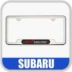 Subaru License Plate Frame
