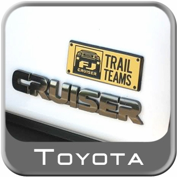 Genuine Toyota Trail Teams Badge FJ Cruiser Special Edition Badge Sold Individually #PT413-35080-PK1