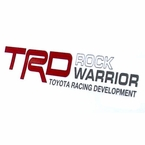 TRD Rock Warrior Decals