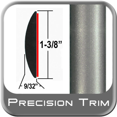 "1-3/8"" Wide Gray Molding Trim (PT57) Sold by the Foot Precision Trim® #17100-57-01"