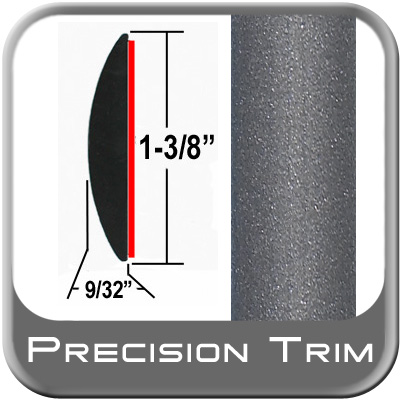 "1-3/8"" Wide Gray Molding Trim (PT83) Sold by the Foot Precision Trim® #17100-83-01"