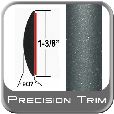 "1-3/8"" Wide Green Molding Trim (PT51) Sold by the Foot Precision Trim® #17100-51-01"