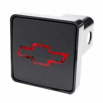 "LED Hitch Cover Chevrolet Hitch Cover Lighted Hitch Cover fits 2"" Trailer Hitches Pilot Automotive® #CR007C"