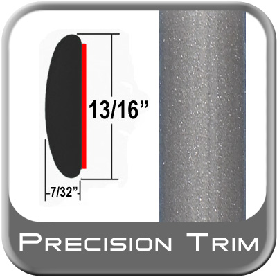 """13/16"""" Wide Gray (Light) Molding Trim (PT91) Sold by the Foot Precision Trim® #40100-91-01"""