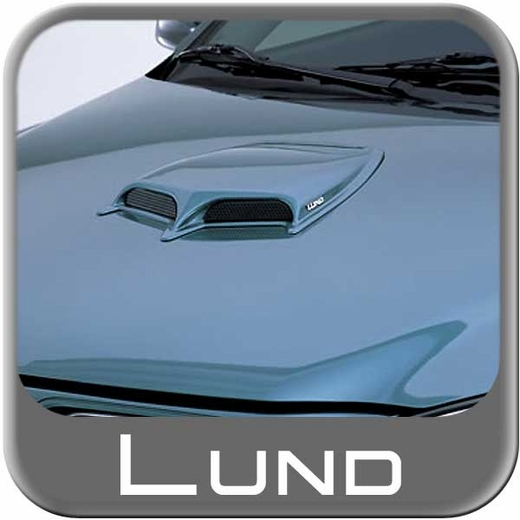 Lund Hood Scoop Small Ram Air Style Black Abs Paintable Single Scoop