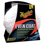 Meguiars Even Coat Microfiber Applicator Pads Set of 2 #X3080