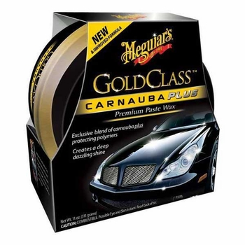 Meguiars Gold Class Clear Coat Paste Car Wax 11 oz. Tub #G7014J