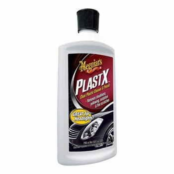 Meguiars PlastX Clear Plastic Cleaner & Polish 10 oz. Bottle #G12310