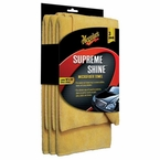 Meguiars Supreme Shine Microfiber Towel Set of 3 #X2020