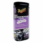 Meguiars Supreme Shine Vinyl/Rubber/Plastic Protectant 25 Wipes #G4000