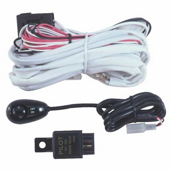 pilot automotive wiring harness w/switch from brandsport auto parts  (#pilt-pl-harn3)