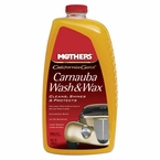 Mothers California Gold Carnauba Wash & Wax 64 oz. Bottle #05674