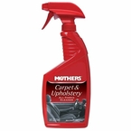 Mothers Carpet & Upholstery Cleaner 24 oz. Trigger Spray Bottle #05424