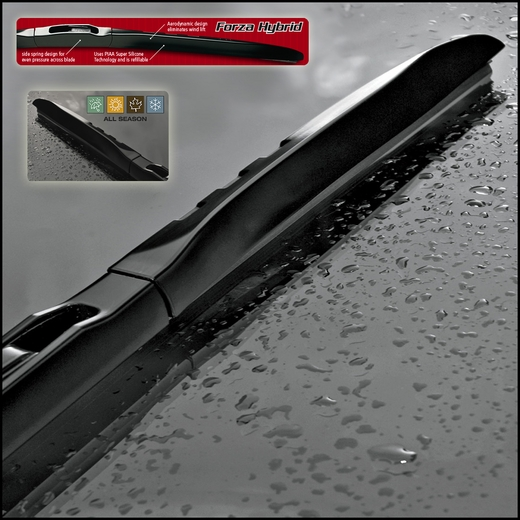 Piaa Forza Hybrid Wiper Blade 400mm 16 Long Side Spring Design W