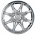 "Pilot Automotive 14"" Chrome Hub Caps Star Style, 8-Spoke Set of 4 #WH530-14C-BX"