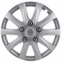 "Pilot Automotive 15"" Silver Hub Caps Camry Style, 10-Spoke Set of 4 #WH526-15S-BX"