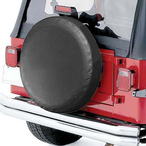 Pilot Automotive Black Spare Tire Cover Black Vinyl Material/Color #CM03