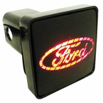 "Pilot Automotive Ford Hitch Cover LED Hitch Cover Lighted Hitch Cover fits 2"" Trailer Hitches Sold Individually #CR007F"