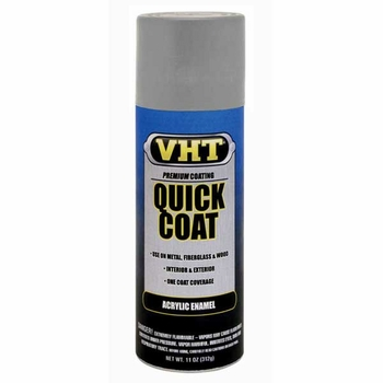 Machinery Gray Quick Coat® Acrylic Enamel Spray Paint 11 ounce VHT #SP513