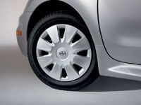"2003-2007 Scion Wheel Cover 15"" 8 Spoke Style Silver Alloy Look Sold Individually (1 cover) Sold Individually Genuine Toyota #08402-52825"