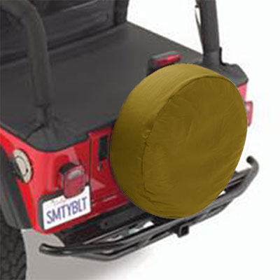 "SmittyBilt Spice Spare Tire Cover Spice Color Fits 30""-32"" Tires #773217"