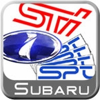 Subaru & SPT Logo Decals, Stickers & Emblems