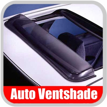 "Auto Ventshade AVS Sunroof Wind Deflector Classic Style Windflector Fits opening up to 38-1/2"" Wide #77004"