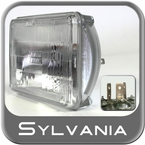 Sylvania H4666 Headlight Bulb XtraVision Halogen Sold Individually #H4666XV