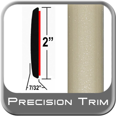 "2"" Wide Tan Molding Trim (PT93) Sold by the Foot Precision Trim® #1490-93-01"