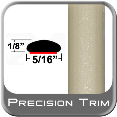"5/16"" Wide Tan Wheel Molding Trim (PT93) Sold by the Foot Precision Trim® #24200-93-01"